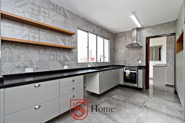 Apartamento com 4 quartos e 2 vagas para aluguel no Bigorrilho em Curitiba - PR