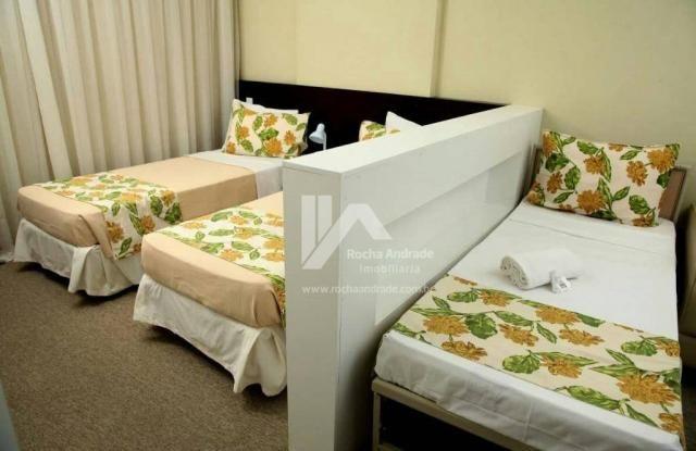 Flat com 1 dormitório à venda, 30 m² por R$ 249.000 - Caminho das Árvores - Salvador/BA - Foto 7