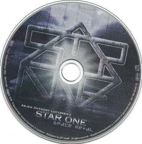 Arjen Anthony Lucassen's Star One - Space Metal 02 CDs - Foto 3