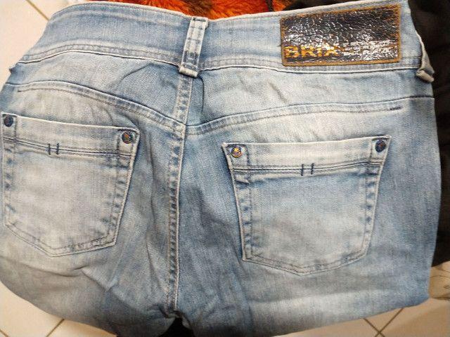 Vendo 5 calças pouco uso, estão de graça - Foto 3