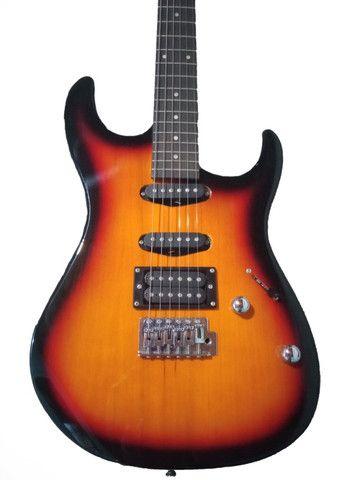 Guitarra Menphis By Tagima MG 260 Sunburst + Case ESP
