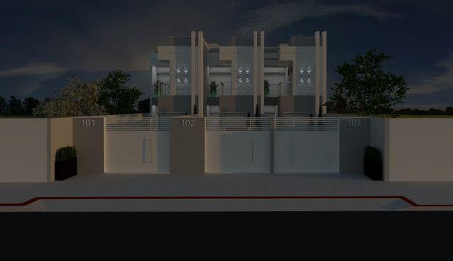 Casa duplex no Lagoa Park I com 03 quartos sendo 01 suíte e amplo quintal - Foto 2