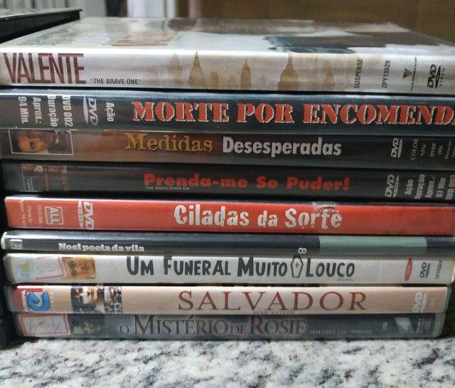 DVDs de filmes antigos e usados (Leia a descrição) - Foto 2