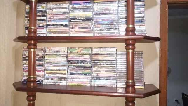 Vendo novecentos DVD's de Filmes e Shows - PREÇO R$ 600,00 - Foto 3
