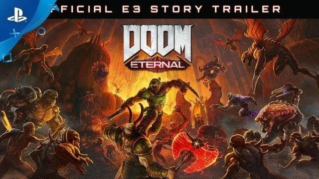 Jogo Doom Eternal Ps4 Mídia Física - Foto 4