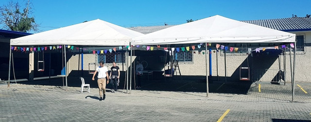 Lonas Pramides cobertura e Laterais usadas p tendas Pirâmides - Foto 3