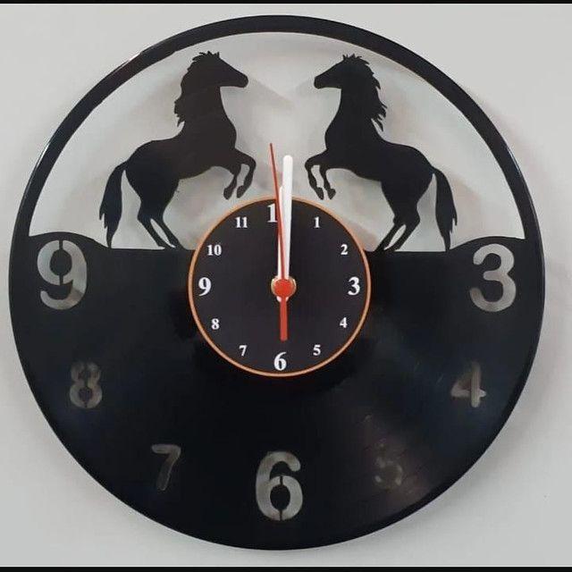 Relógio de parede vinil - Foto 4