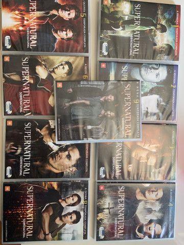Box Supernatural 1-9 temporadas