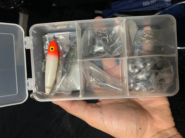 Kit de pesca novo, nunca usado - Foto 4