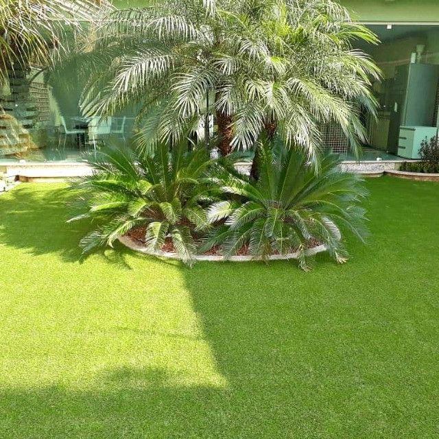 Grama Sintética Ideal Garden 30mm Bicolor de Jardinagem - Foto 2