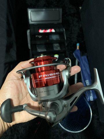 Kit de pesca novo, nunca usado
