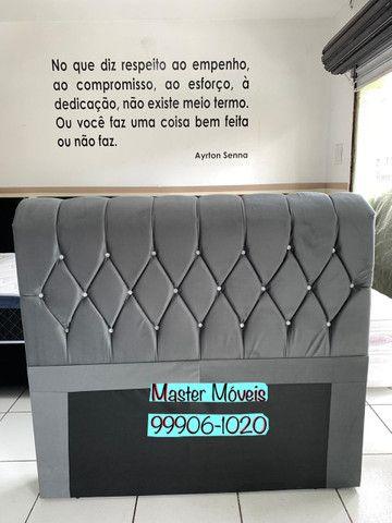 Cabeceira de cama casal NOVA - Entrego! - Foto 2