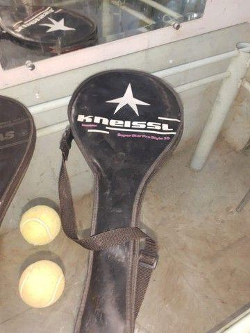 (Cód.029) Duas raquetes e duas bolinhas de Tênis - Foto 4