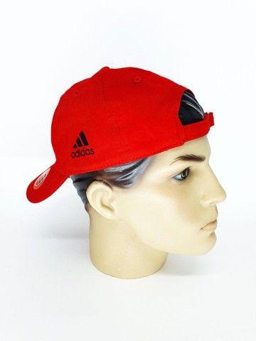 Boné Flamengo Dad Hat Strapback Unissex  - Foto 3