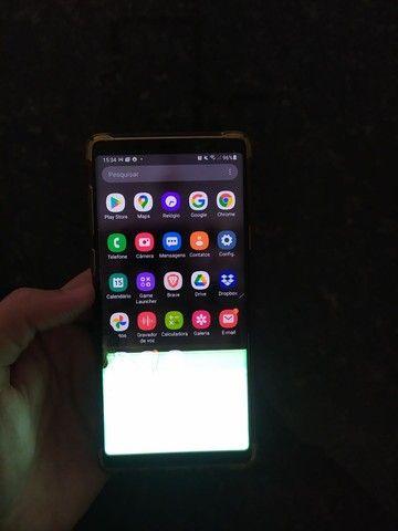 Samsung note 9 tela trincada