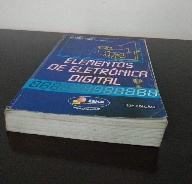 Elementos De Eletrônica Digital 33ª Edição - Foto 3