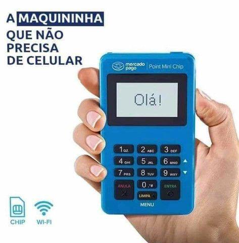 Maquininha de Cartão Mercado Pago e PagSeguro  - Foto 3