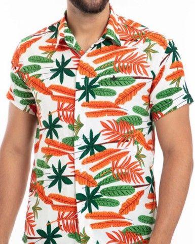 Camisas Viscose Frete grátis  - Foto 5