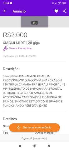 XIAOMI MI9T 128g - Foto 4