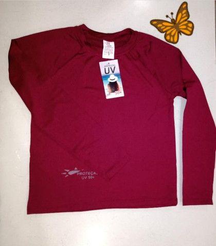 Camisa UV Infantil Malha Fria - Atacado e Varejo - Foto 5