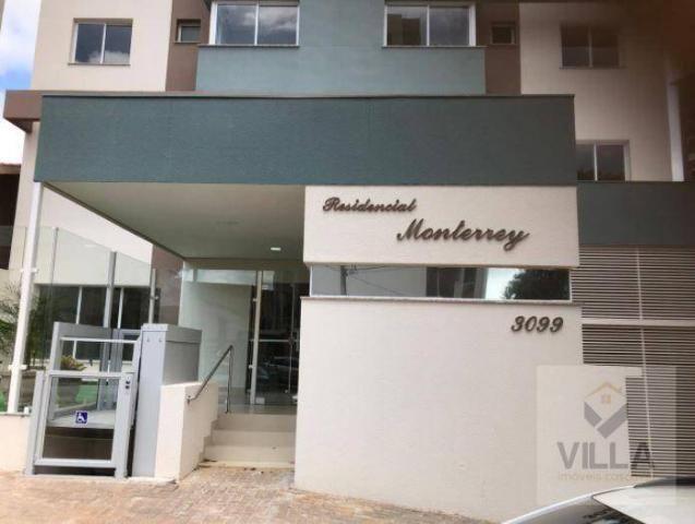 Apartamento com 2 dormitórios à venda, por R$ 355.886 - Centro - Cascavel/PR - Foto 14
