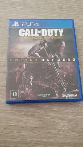 Call of Duty Advanced Warfare edição especial Day Zero PS4