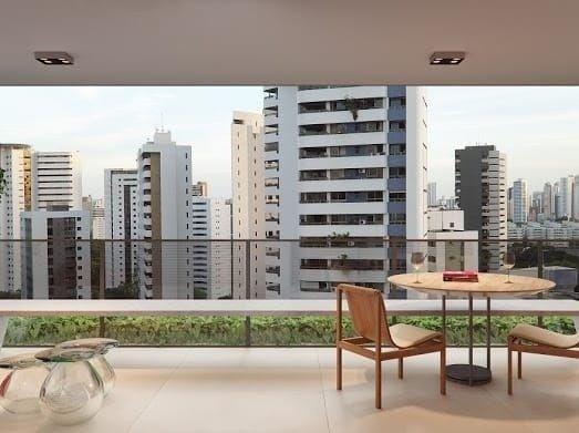 MSerpa Edf Terraço Jaqueira Rio Ave 160m² 4 suites 3 vagas Jaqueira - Foto 5