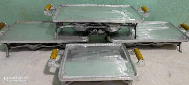 Picanheira de alumínio batido  - Foto 3