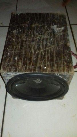 Caixa com alto falante de 12 - Foto 3