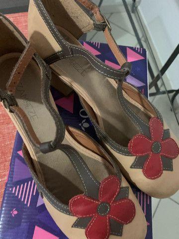 Maravilhoso sapato da linha conforto zambeze número 37 - Foto 2