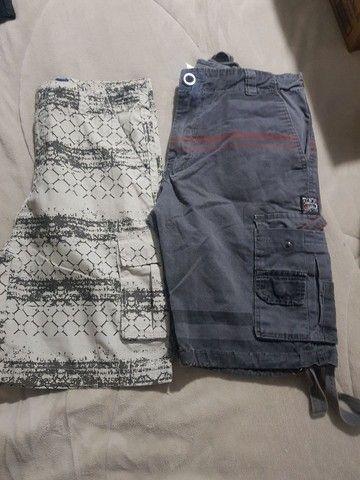 3 peças de roupas Tamanho 12