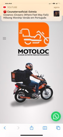 MOTO PARA ALUGAR Honda Pop 110i ano:2020 ALUGUEL LOCAR LOCADORA - Foto 4