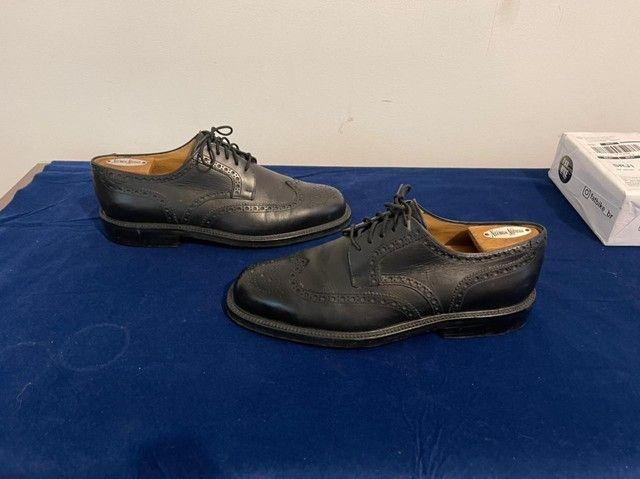 Sapatos italianos, Fratelli Poluso, cromo negro - Foto 3