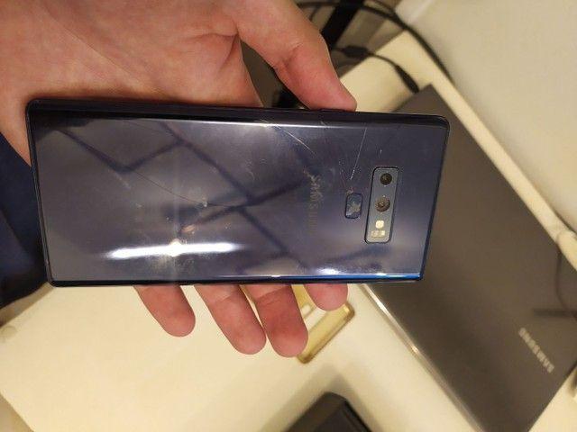 Samsung note 9 tela trincada - Foto 6