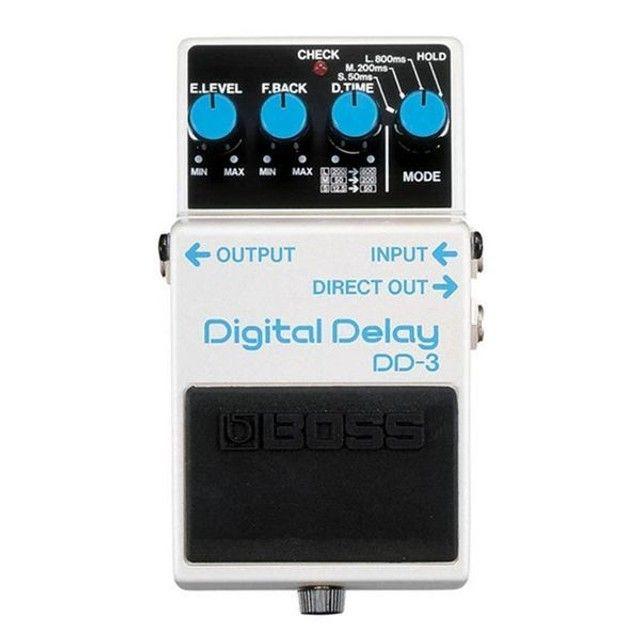 Pedal De Guitarra Boss Dd-3 Digital Delay