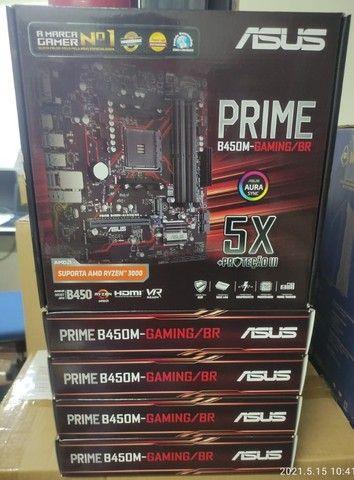 Placa Mãe Asus Prime B450M Gaming/BR - Foto 2
