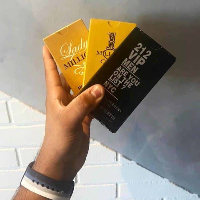 Perfumes ( one milion e lady milion Por:50 cada) aceitamos cartões