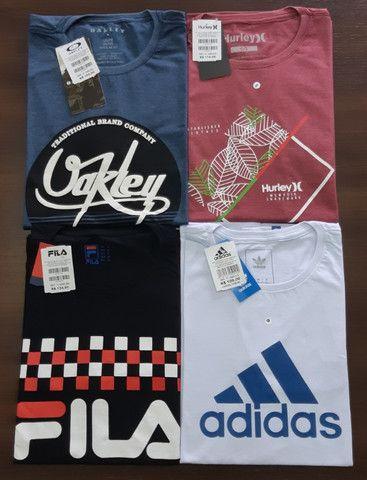 Camiseta Premium 30/1 Penteado no Atacado - Foto 2
