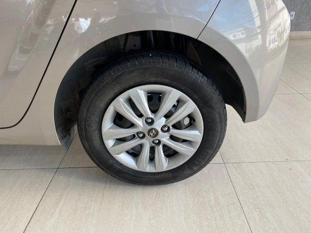 Hyundai Hb20 Unique 1.0 Prata 2019 - Foto 7