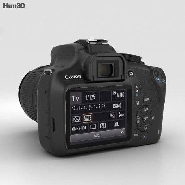 Câmera Profissional: Canon Rebel EOS T3