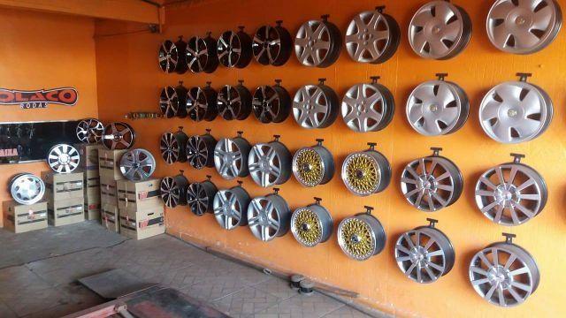 Rodas e acessórios para rodas