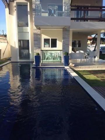 Casa de Luxo 420 m², 6 Suítes, Varanda, Piscina - Serrambi, PE - Foto 2