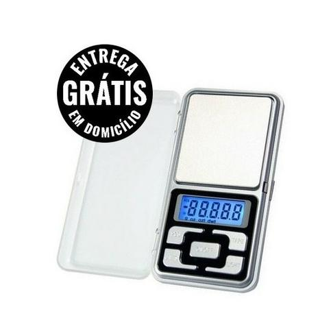 Mini Balança Digital De Bolso 0,1g Até 500g Alta Precisão - entrega grátis