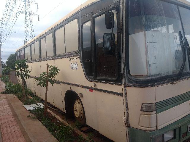 Ônibus Marcopolo ótimo p lanchonete
