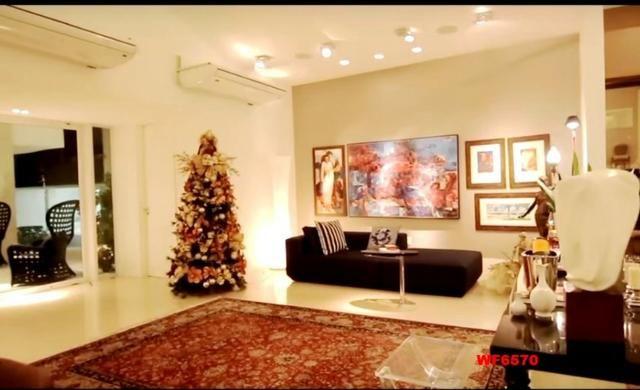 Mansão em Fortaleza, casa duplex nas Dunas, 4 suítes, gabinete, bairro de Lourdes - Foto 12