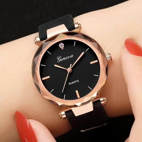 f1369e0d496 Relógio Feminino Quartzo + Caixa - Bijouterias