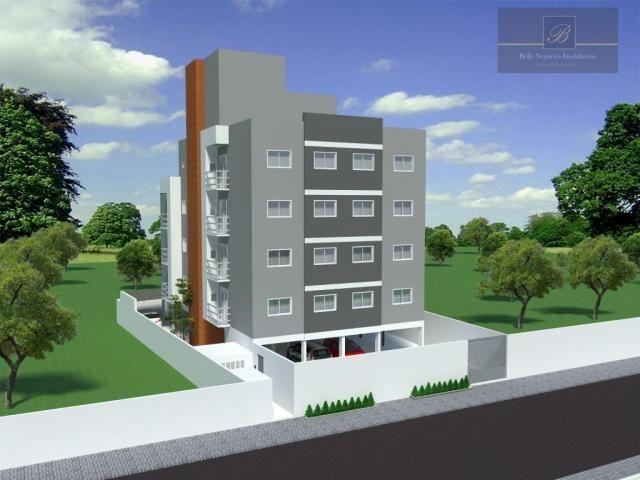 Apartamento com 2 dormitórios à venda, 55 m² por R$ 193.000 - Itaum - Joinville/SC