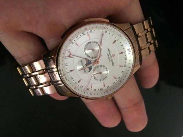 96e422e7932 Relógio Jacques Lemans GENEVE - ORIGINAL - Bijouterias