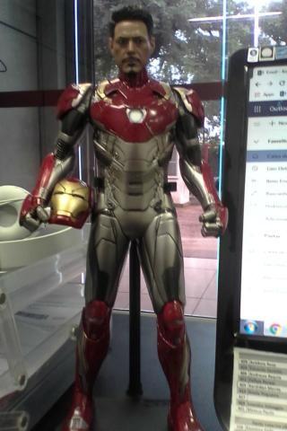 61bbf85651a Action Figure Homem de Ferro Iron Man Avengers Vingadores 1 6 Boneco Spider  Mark 47