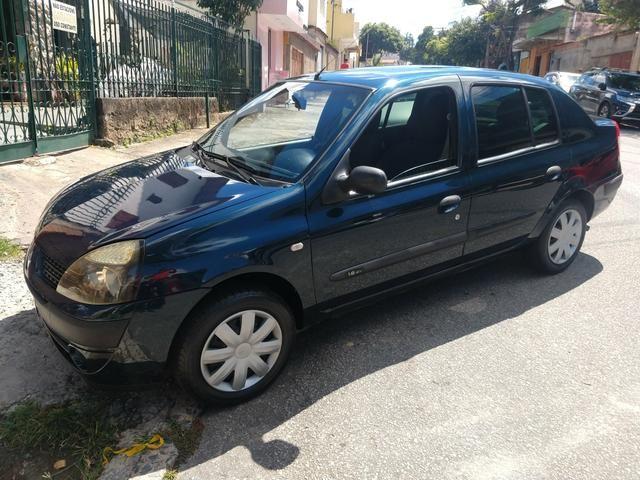 Clio sedan 1.6 2006 Completo